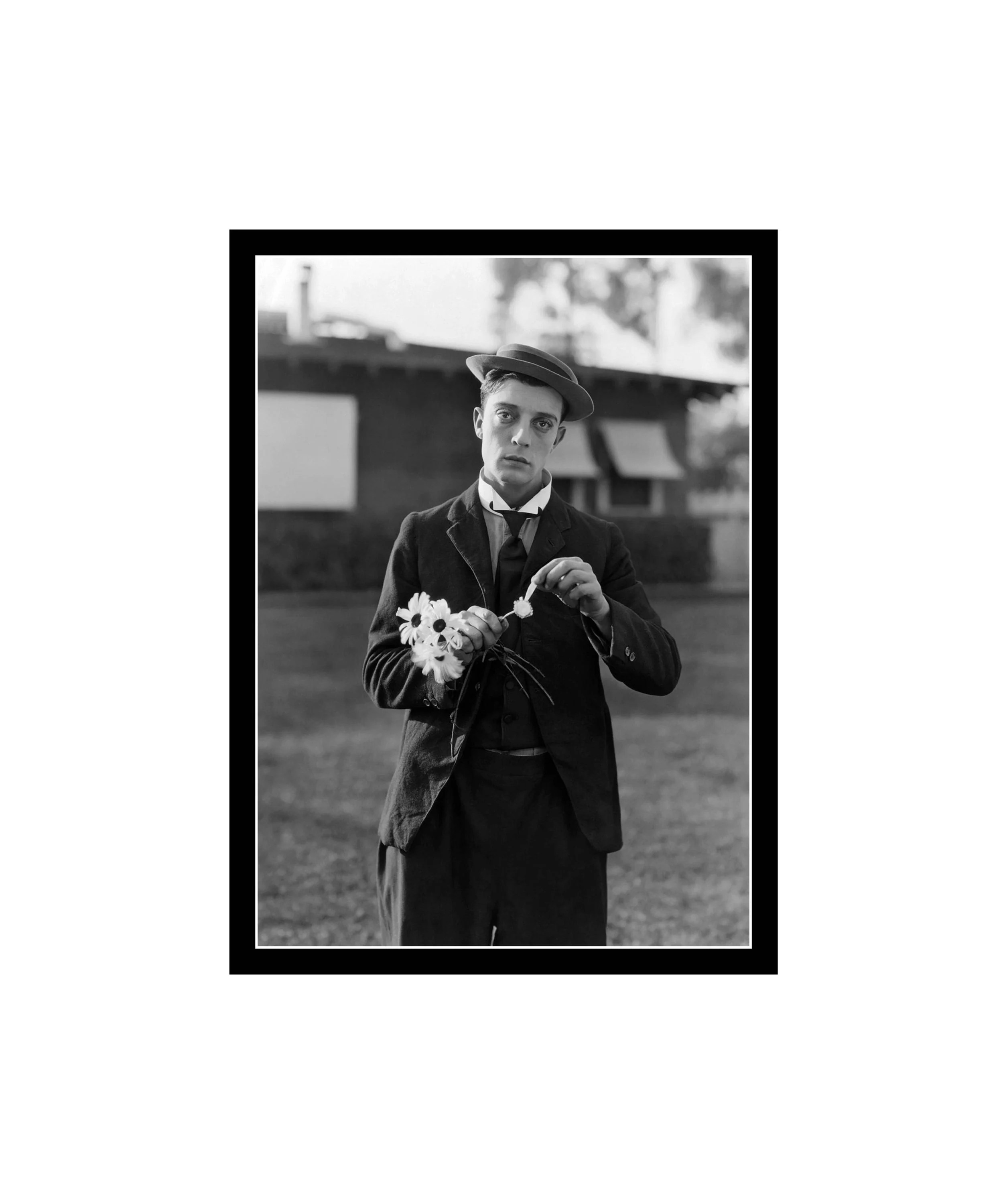 buster keaton poster etsy