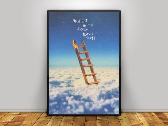 travis scott highest in the room album art poster print wall art a3 custom poster home decor 1994 astroworld jackboys houston
