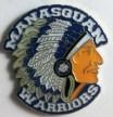 Manasquan NJ New Jersey Big Blue Warriors Lapel Pin   Etsy