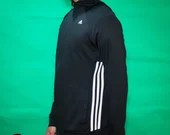 Adidas 3 Stripe Sports Zip-up