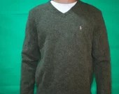 Lambs Wool Polo Sweater
