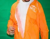 Orange MTL Raincoat