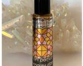 White Lotus Roll-on Jojoba + Almond Oil Aromatherapeutic Moisturizing Perfume Oil 10 ml