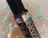 Energizing Roll-on Lemon, Jojoba + Almond oil Moisturizing Perfume 10 ml