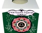 Libra Bath Bomb, Libra Gift, Fizzy Bath Bomb, Zodiac Bath Bomb, Energy Activating Bath Bomb by Namaste Home