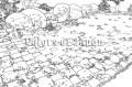 Ausmalbild Japanischer Garten