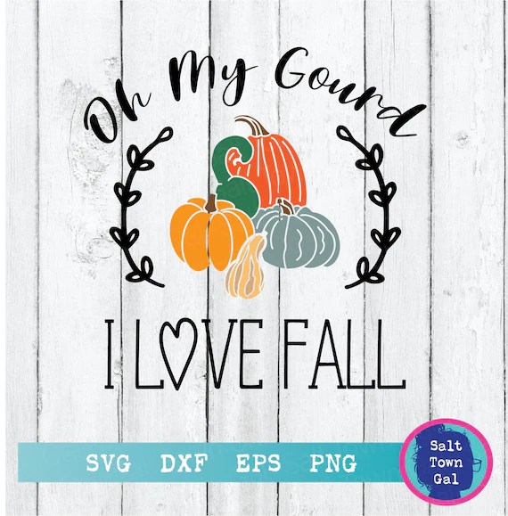 Download Oh My Gourd Svg-Oh My Gourd I Love Fall Svg-Oh My Gourd | Etsy
