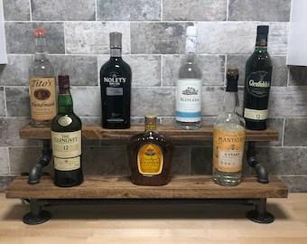 liquor shelf etsy