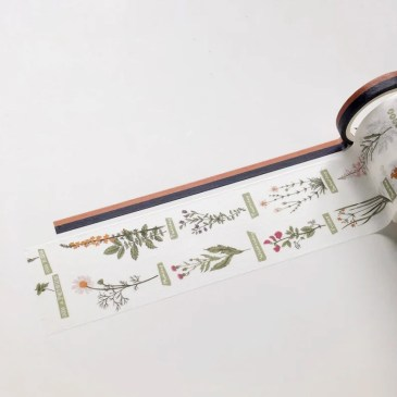 Washi Tape Weekly Plants image 0