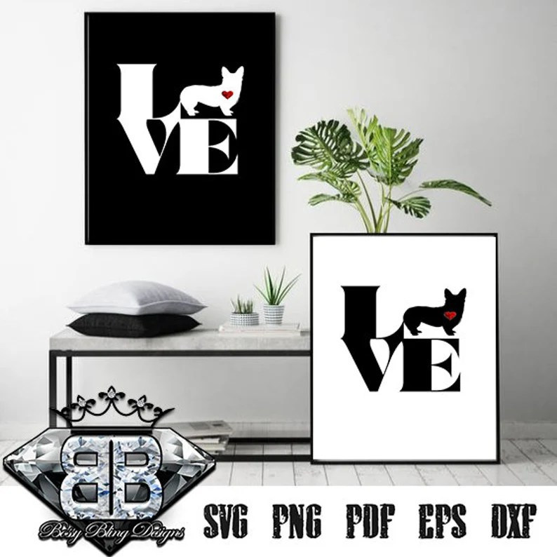 Download Welsh Corgi Block SVG Puppy Love Welsh Corgi Corgi Love ...