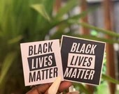 Black Lives Matter Sticker Pack, Social Justice, Proceeds Are Donated, Racial Equality,