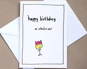 Birthday Whatever – birthday card