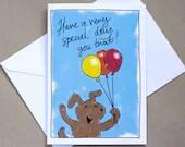 Very Special Day – birthday card