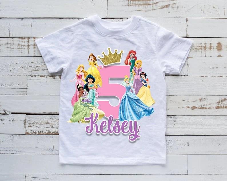 Kids Birthday Shirt Etsy