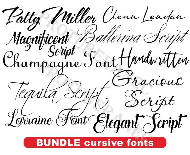 Download Wedding font for Cricut Wedding font bundle Cursive fonts ...