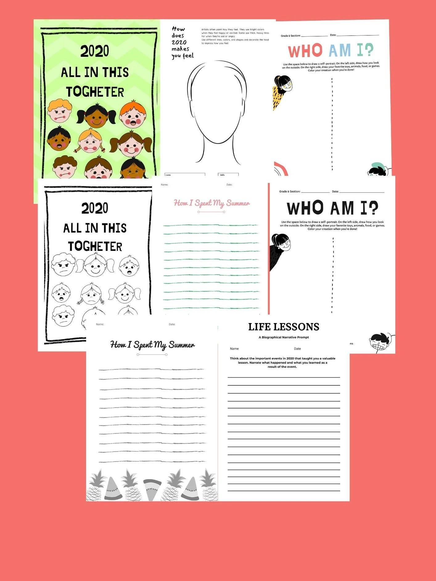 Worksheet Booklet