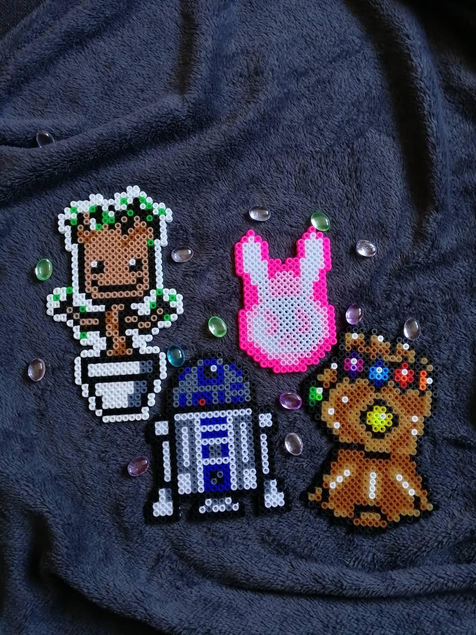 Darth Vader Star Wars Perler Bead Pattern Star Wars Quilt