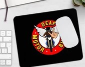Mousepad with DeafMotorbike logo