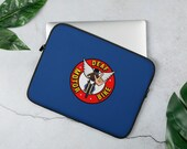 Laptop Sleeve with DeafMotorbike logo