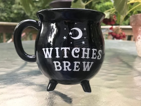 Witches Brew Cauldron Coffee or Tea Mug Witchs Brew image 0