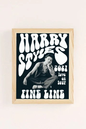 harry styles poster etsy