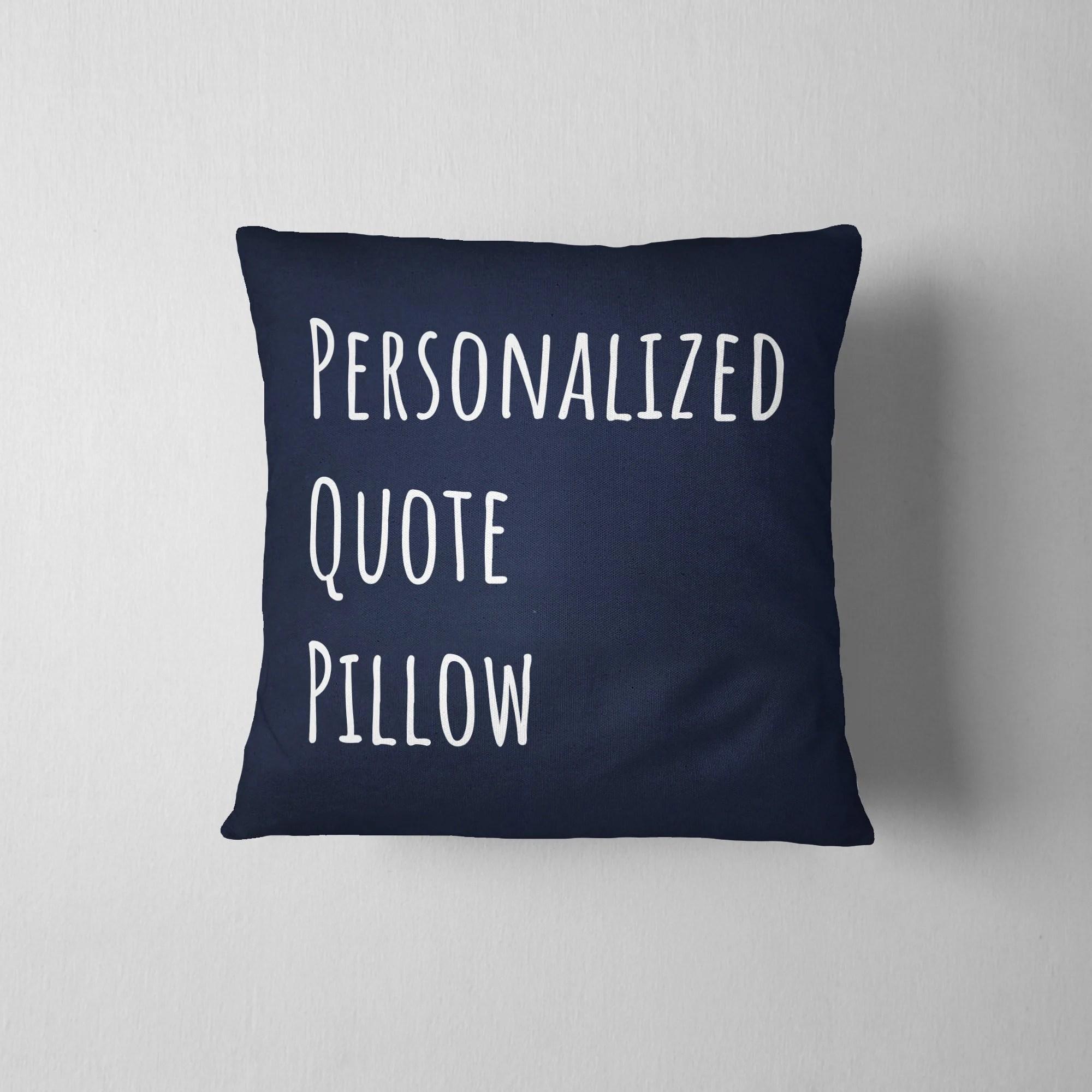 custom pillow cases etsy