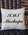 Off White Pillow Mockup Farmhouse Mockups Pillow And Chair Etsy