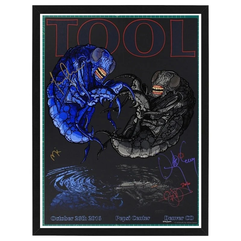 tool band poster etsy