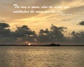 Digital Download - Sunset with Scripture Series (P3T6) - Psalm 74:16