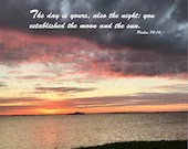 Digital Download - Sunset with Scripture Series (P7T6) - Psalm 74:16
