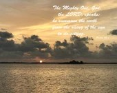 Digital Download - Sunset with Scripture Series (P3T4) - Psalm 50:1