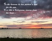 Digital Download - Sunset with Scripture Series (P6T2) - Psalm 19:4-5