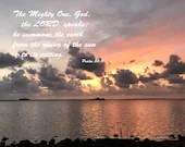 Digital Download - Sunset with Scripture Series (P4T3) - Psalm 50:1