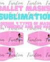 Dancer Mask Sublimation Designs Png Sublimation Designs Etsy