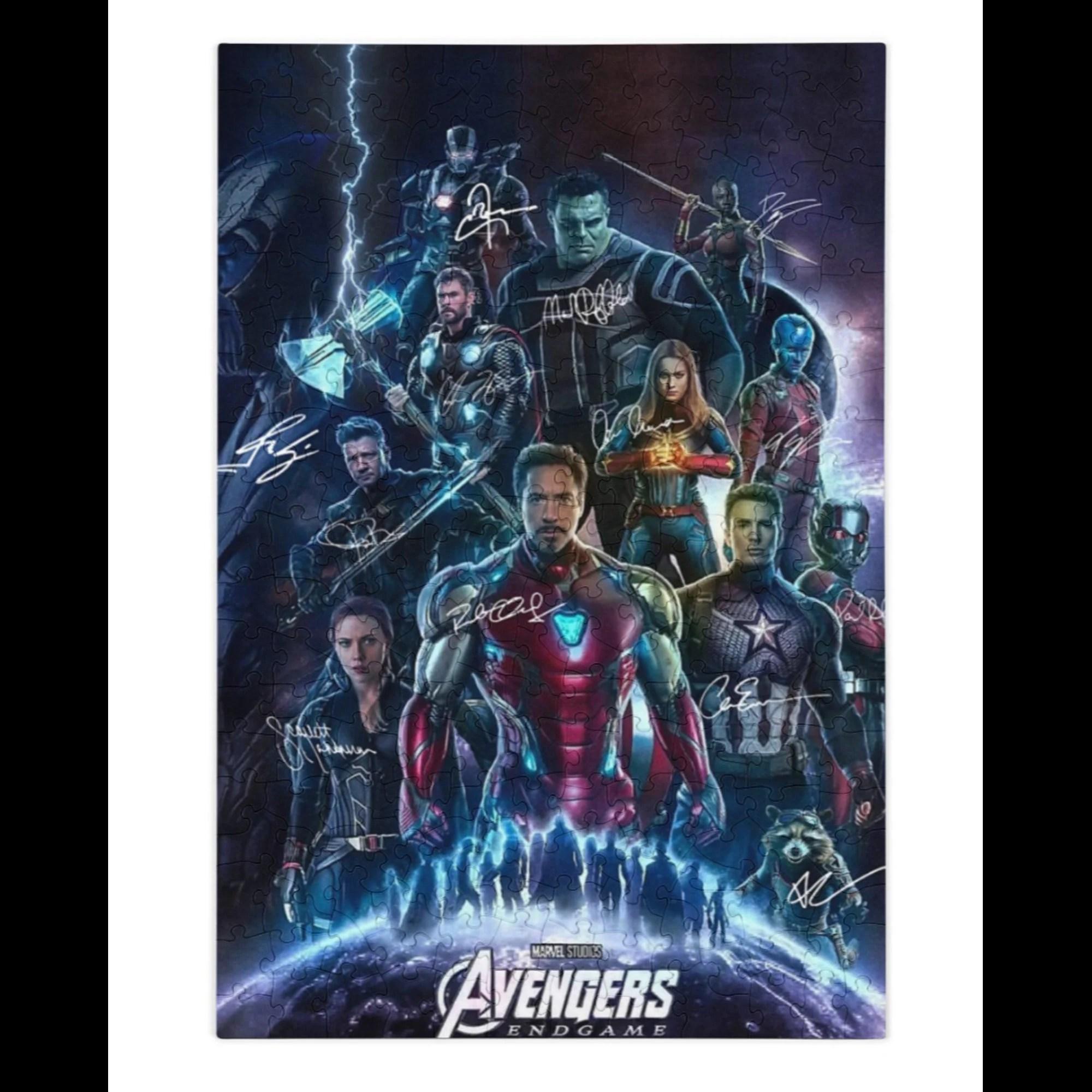 avengers signed etsy