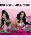 Hair Model Stock Photo Hair Extension Stock Photo Etsy