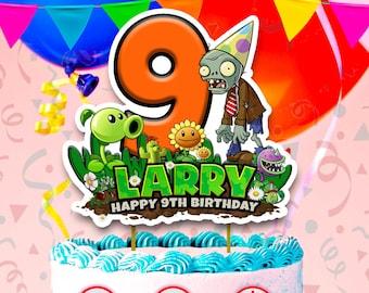 Plants Vs Zombies Party Invitation Digital Download Etsy
