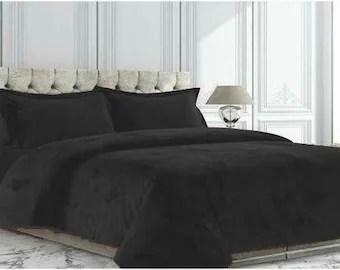 black gold comforter etsy