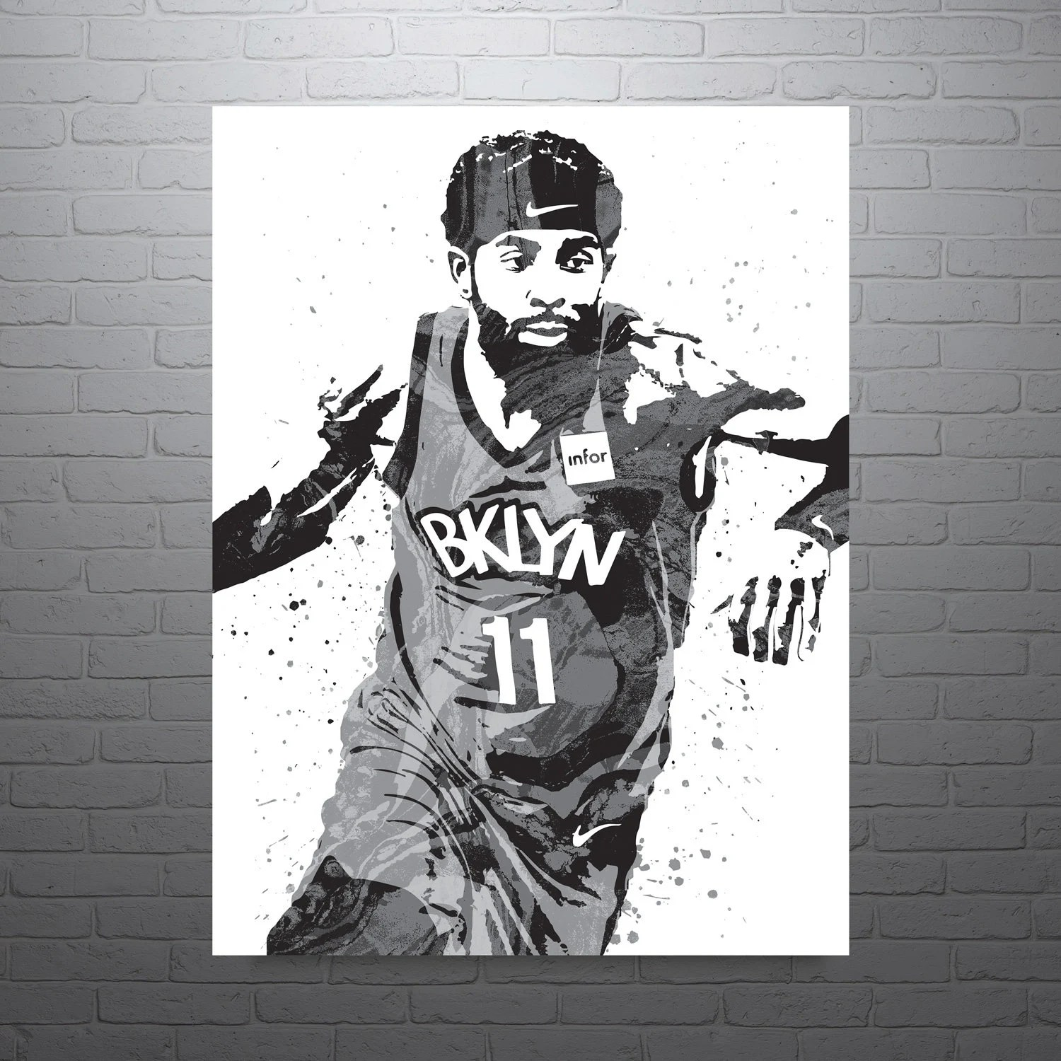 kyrie irving poster etsy