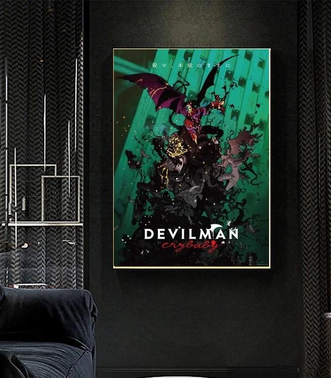 devilman crybaby etsy