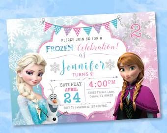 https www etsy com market frozen invitation