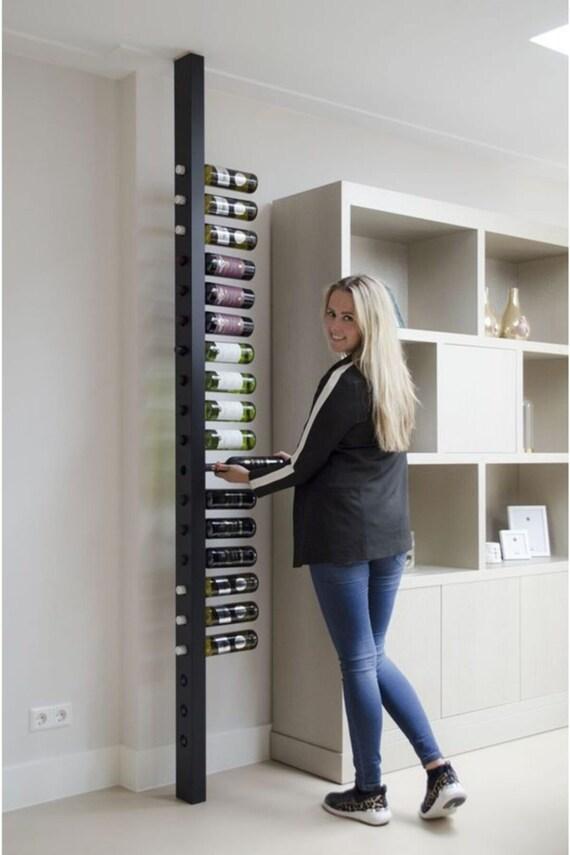 wine rack wooden shelf decorative multiple wall shelf etsy