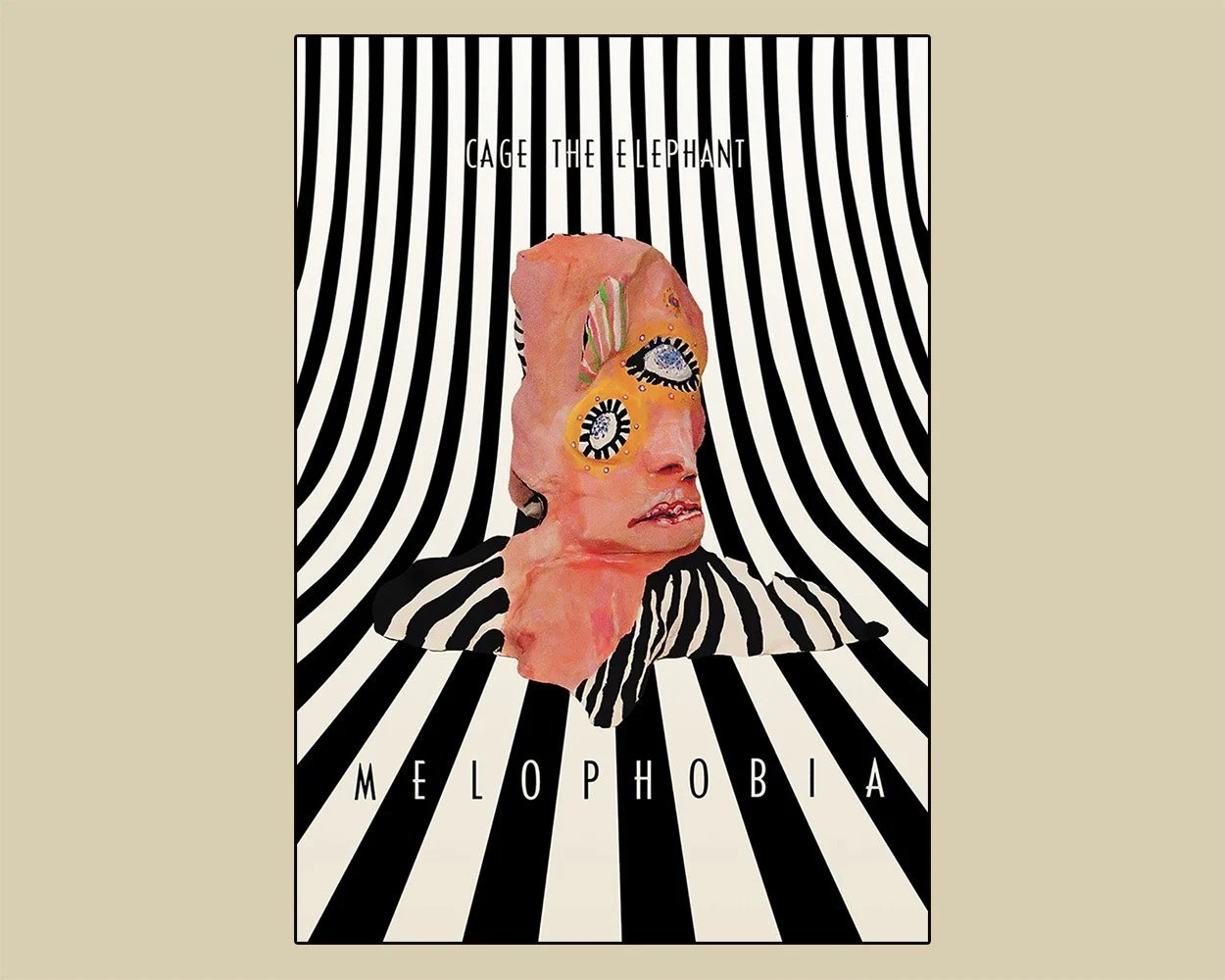 cage the elephant poster etsy