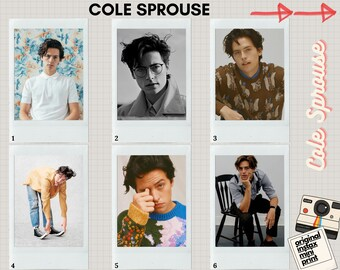 cole sprouse poster etsy