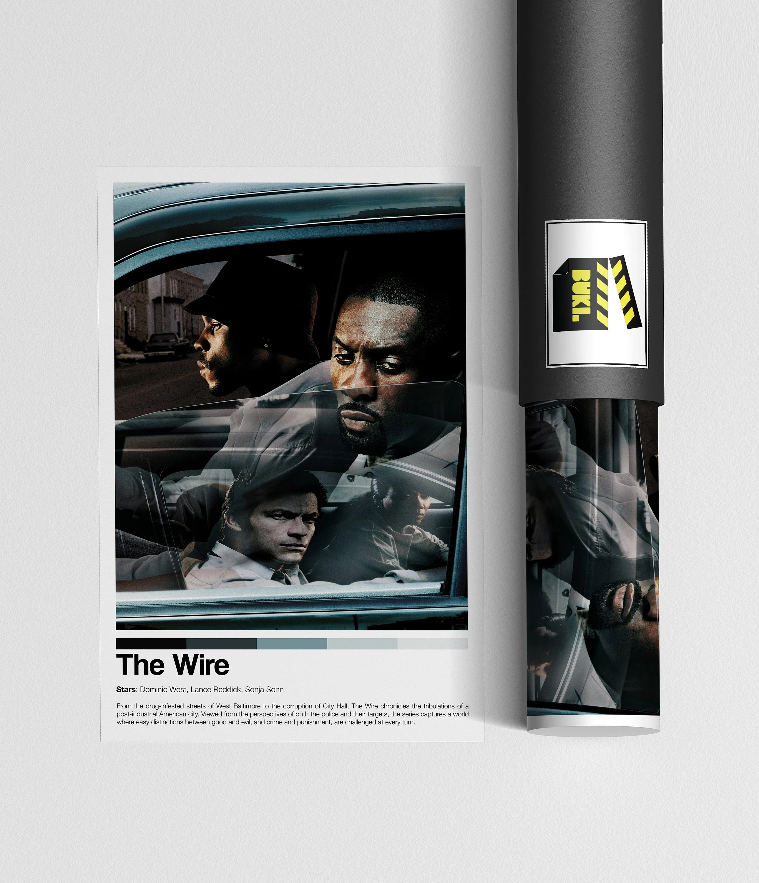 the wire poster etsy