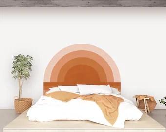 sticker tete de lit style marocain
