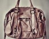 Verona Vintage Bag - Genuine Leather Bag - Made in Italy - Vintage style