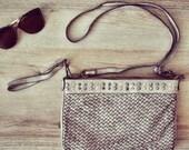 Milano Vintage Bag Beige - Vintage Style - Boho Chic - Hippie Style - Genuine Leather
