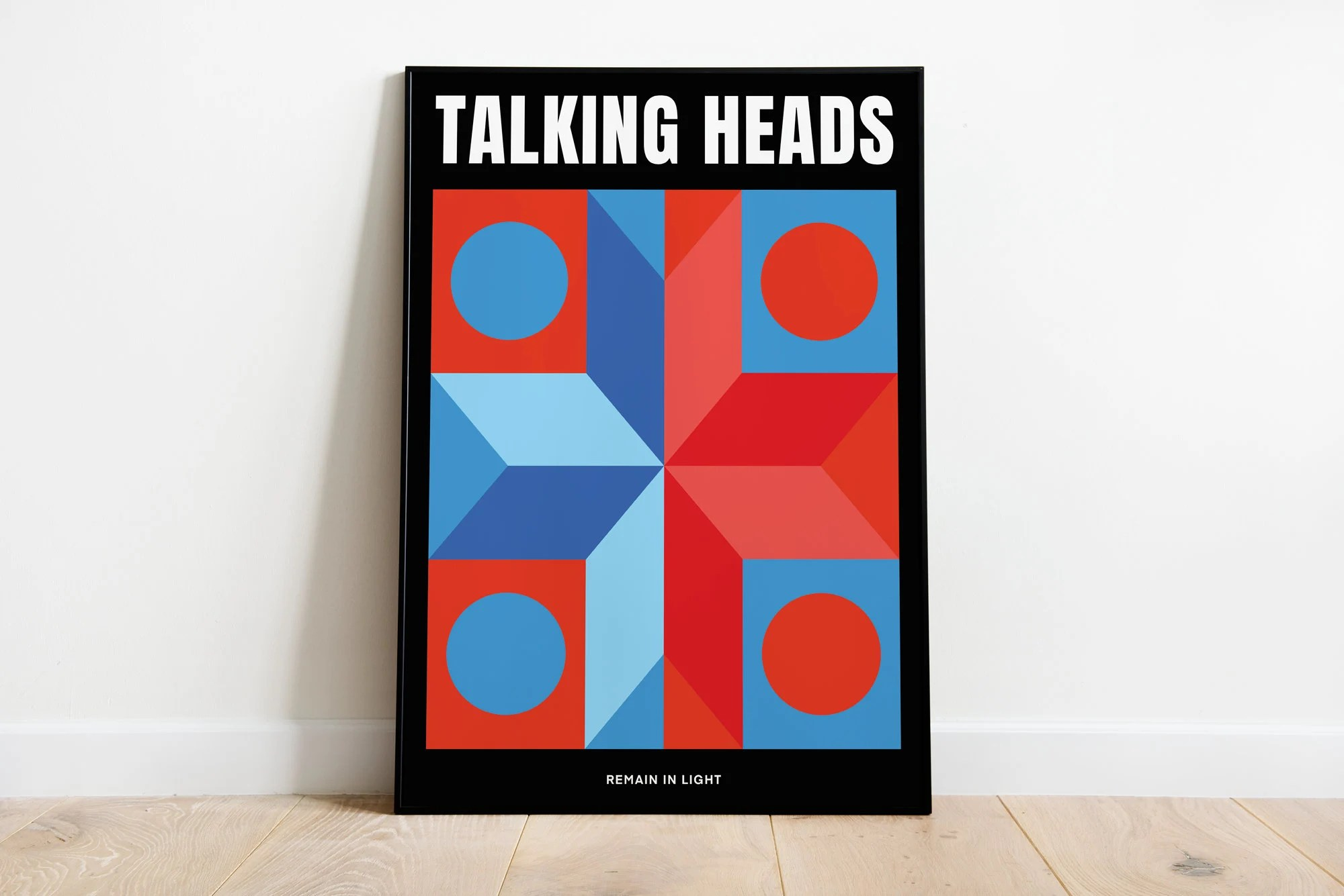 talking heads poster etsy