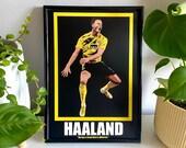 Erling Braut Haaland - Borussia Dortmund, Red Bull Salzburg, Norway Football Poster, Football Print